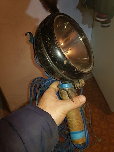 Охота и рыбалка - Кыргызстан: Продаю Лампа-Фара,для ночной охоты. Вертолетная 24 (Вл). Очень