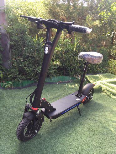Самокат для езды сидя 500W16Ah  - Надувные колёса 10 дюймов - Литиев