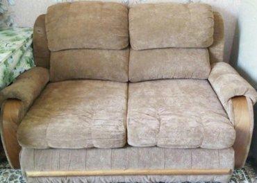 Продаю!Раскладной диван.б/у в хорошем состоянии. в Бишкек