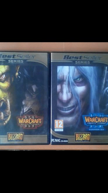 Warcraft 3 Reign of Chaos & The Frozen Throne - Μοναδικό σε Magnisia