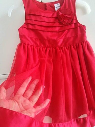 Carters haljinica 24 m, prelepa, crvena dva puta obucena, uz nju u - Belgrade