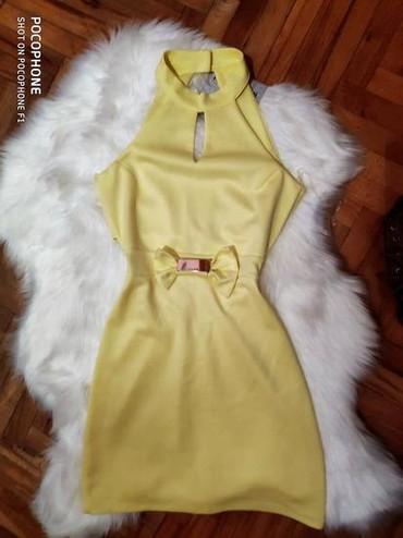 Haljine - Sremska Mitrovica: Zuta haljina XS
