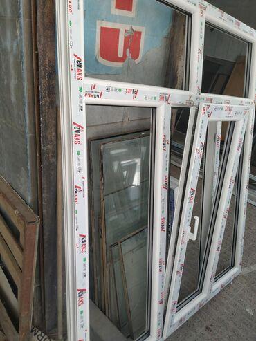 Plastiq qapı və pəncərə və cam balkon və cepe hazırlanması pencere