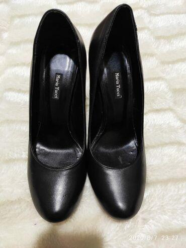 Женская обувь в Бишкек: Продам туфли от бренда Maria Tucci.Высокий каблук,удобные, одевали