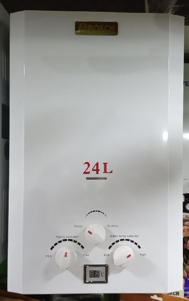 - Azərbaycan: Su qızdırıcı Bosch 24 litrYenidir qiymete qurasdirilmada daxildir