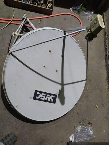 Спутниковая тарелку рабочие состояния хорошее 1200сом + новый ресивер