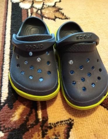 Новые детские кроксы, оригинал, качество супер,26-27 размер. в Бишкек