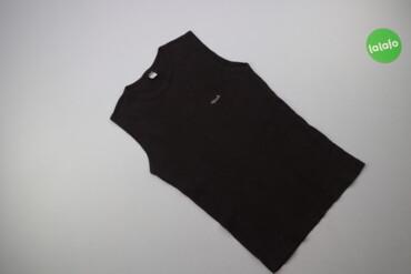 Чоловіча однотонна майка Rash Underwear, р. S    Довжина: 63 см Напіво