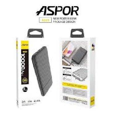 Aspor A323 Güc Bankı 10000 mahTexniki şərtlər:-Model: A323-Batareya
