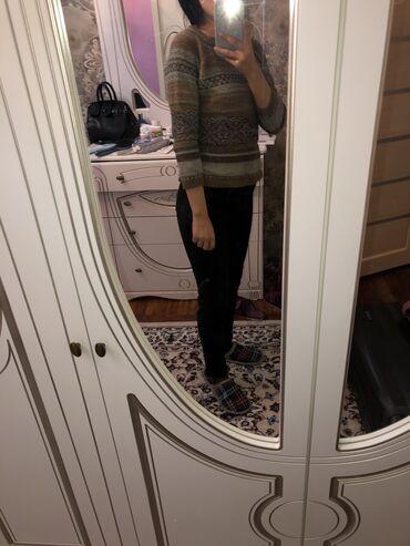 теплые шорты в Кыргызстан: Чёрные утеплённые джинсы с начесом. Цена 300 сом. Коричневая тепленька