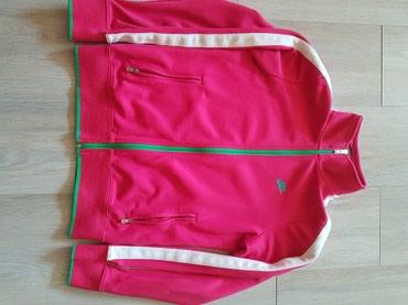 Nike duks original,roze sa zelenim,velicina xl ali je to deciji - Nis