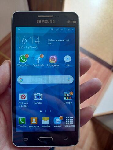 Galaxy grand - Azərbaycan: İşlənmiş Samsung Galaxy Grand Dual Sim 8 GB qəhvəyi