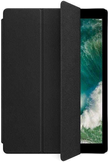 "Ipad-pro-2018-бишкек - Кыргызстан: Обложка Apple Leather Smart Cover for 12.9"" iPad Pro (Black) Новый"