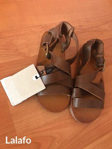 Продаю детские новые сандали, кожа, на в Бишкек