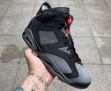 boz rəngli qadın ayaqqabıları - Azərbaycan: Jordan 6 (sağa çevir 👉🏽) Nike Jordan 6 - İnfared, Tinker, Paris Saint3