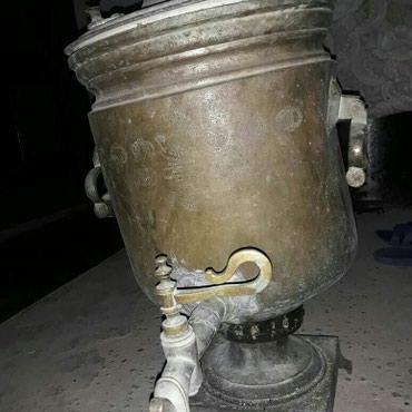 Bakı şəhərində Antik somavar 1890 Mis