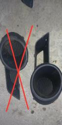 Заглушка(левая) на тайота хайландер 1шт. 1500с