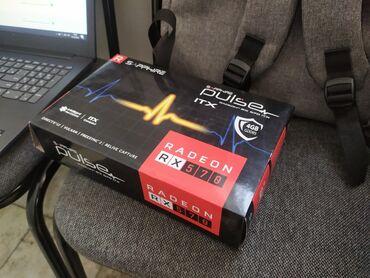 Продаю новую видеокарту RX570 ITX 4гб(Sapphire)Видеокарта новая