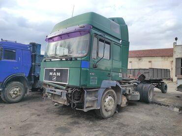 продажа рефрижераторов бу в Кыргызстан: Продаю MAN (19463) тягач 1997 г. выпуска. Объем двигателя 12.8, мотор