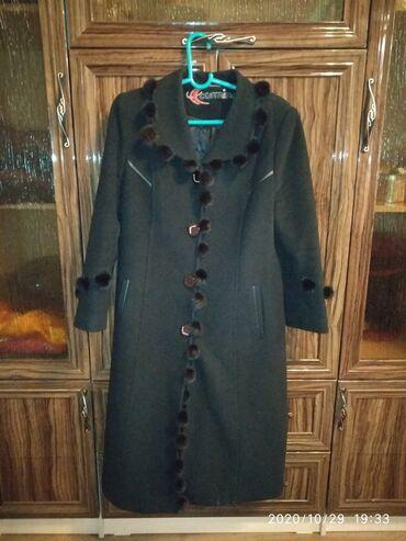 шикарное маленькое черное платье в Кыргызстан: Шикарный,бомба, пальто просто не описатьРазмер 50, более подробно в
