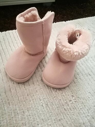 Dečije Cipele i Čizme | Novi Pazar: Cizme za bebe h&m, vel.20/21 Kao nove