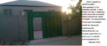 Bakı şəhərində Tecili 3 otaqli tam temirli ev satilir.