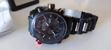 Sako muski - Srbija: Muski sat nov veliki i masivan izgubljen poklopac prilikom transporta