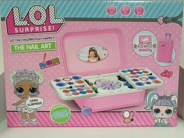 Barbie set - Crvenka: LOL kofer sa sminkomCENA: 1800,00Svaka princeza sanja o sopstvenom