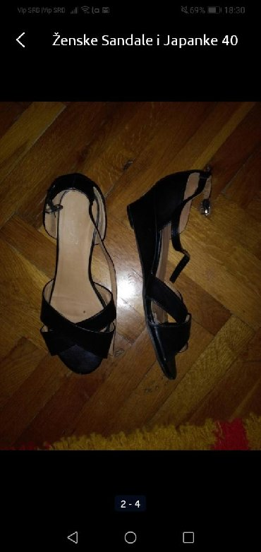 Ženska obuća | Sombor: Sandale 39 broj