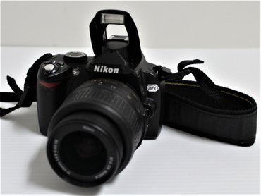 Nikon D60 Digital SLR Camera 10.2MP wDX Len в Бостери