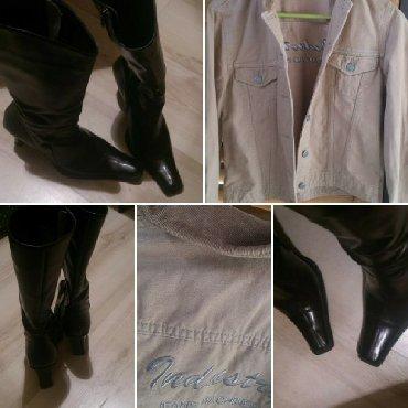Rasprodaja - Srbija: Rasprodaja!Cizme kozne br.40+jaknica vel.L