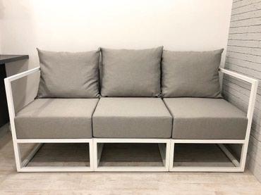 """Уютный диван """"Sofa/Loft"""" на металлическом в Бишкек"""