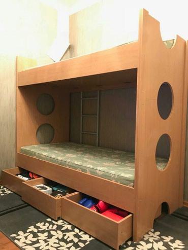 Взрослая Двух-ярусная кровать в Бишкек