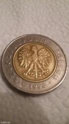 Bakı şəhərində Çox nadir tapılan Polşa ölkəsinin 1994-cü il olan 5 qəpiyi satılır.Ar
