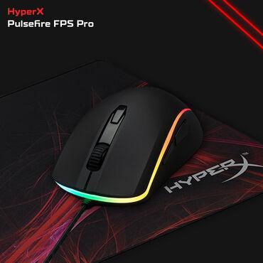 Mauslar - Azərbaycan: HyperX Pulsefire Surge - RGBGaming mouse - Oyunçu mausuYeni - Bağlı