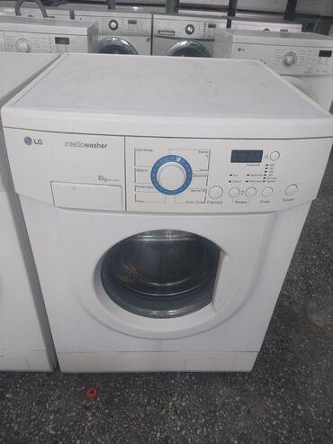 продажа квартир в бишкеке с фото в Кыргызстан: Фронтальная Автоматическая Стиральная Машина LG 6 кг