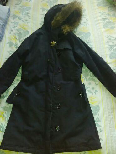 Zimske jakne sa krznom - Srbija: Adidas jakna zimska prelepa I pretopla kupljena u Svajcarskoj,velicna