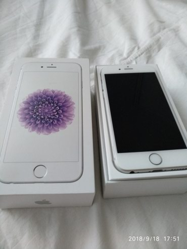 Iphone 6 /64gb silver в Бишкек