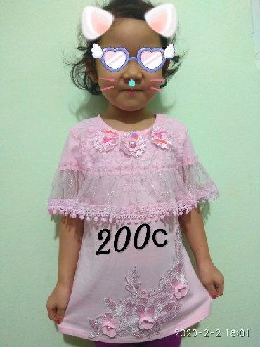 детская одежда оптом от производителя из киргизии в Кыргызстан: Футболки туники детские из Гуанчжоу, отличного качества по 200с