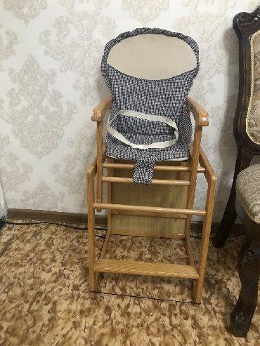 Детский стул трансформер) Стульчик для кормления 2в1)  Чехол можно пос