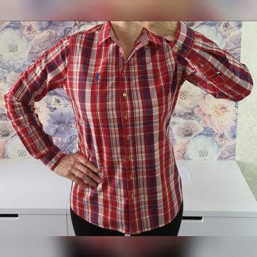 Женская брендовая рубашка US Polo в идеальном состоянии! Размер 46-48