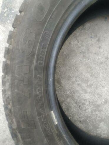 шины r18 в Кыргызстан: Продаю зимние шины почти новые, откатали одну зиму. Причина продажи