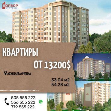 проекты домов бишкек 2017 в Кыргызстан: Индивидуалка, 1 комната, 34 кв. м Парковка