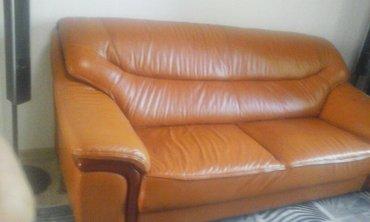 Продаётся кож-мебель.в хорошем состояний просим  просим 28000 сом. в Кара-Балта