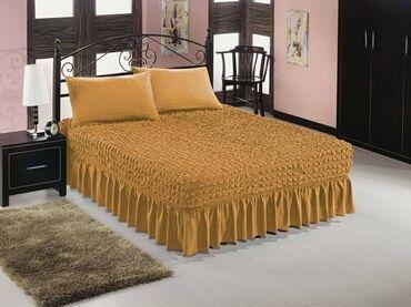Bracni krevet - Srbija: Prekrivaci za bracni krevet i dve jastucnice cena 5.500 din