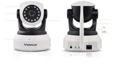IP камера Starcam C7824WIPVstarcam C7824WIP - это бюджетная