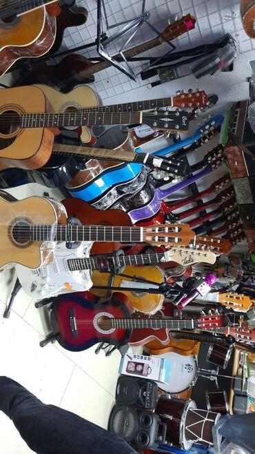 gitara klassik - Azərbaycan: Klassik gitara agac materialli fishman ekvalazerli