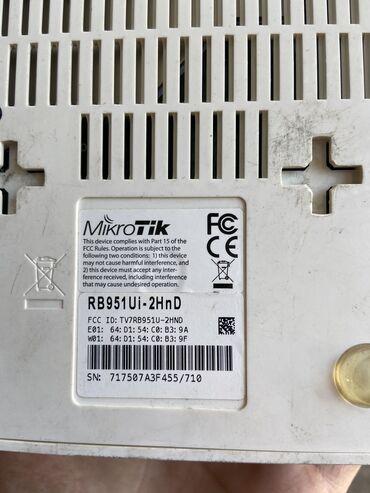 mikrotik-951-ui в Кыргызстан: Продаю Mikrotik RB 951Ui