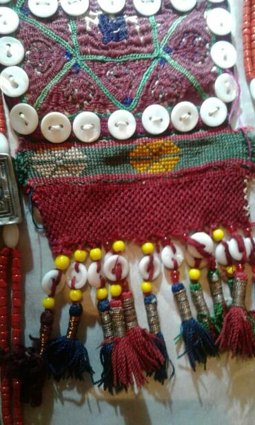 Свадебные аксессуары - Кыргызстан: Чач кеп головной убор антиквариат