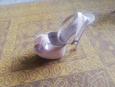 Prelepe sandale perla, nezno roza boja. Preudobne zaista!! Nosenje